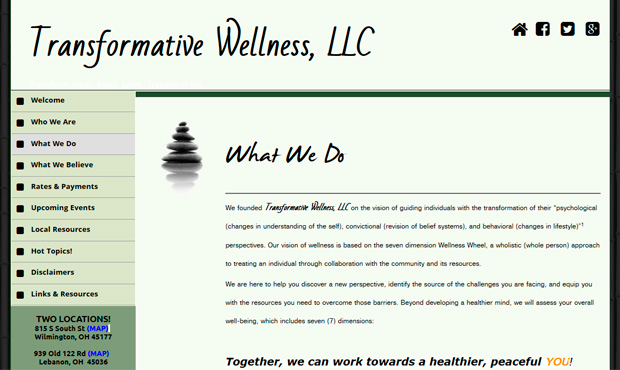 Transformative Wellness